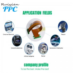 Ruiyien Professional OEM Flex PCB Producent, Specialiser Flexible Printed Circuit Producent